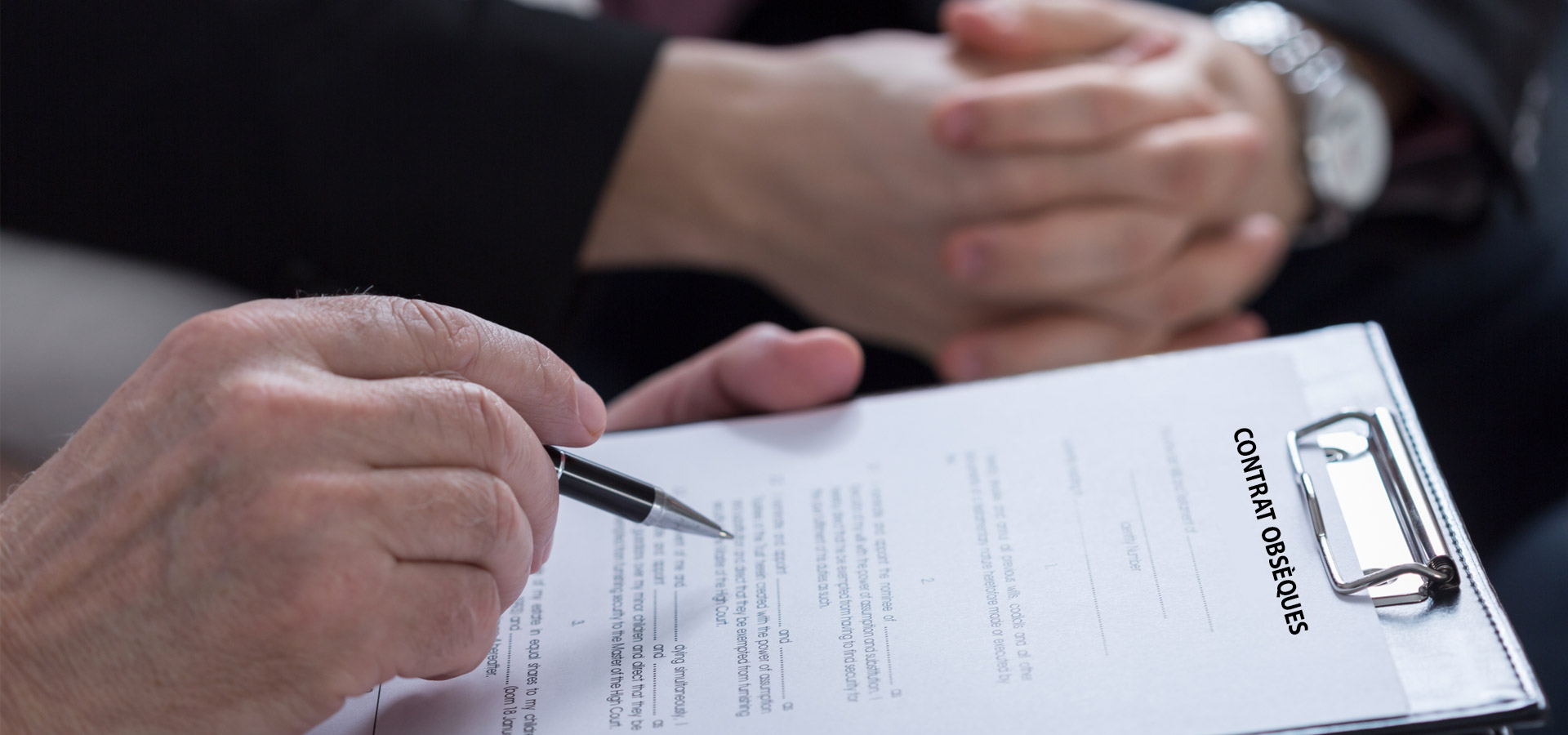 Contrat obsèques Attention à souscrire le bon contrat